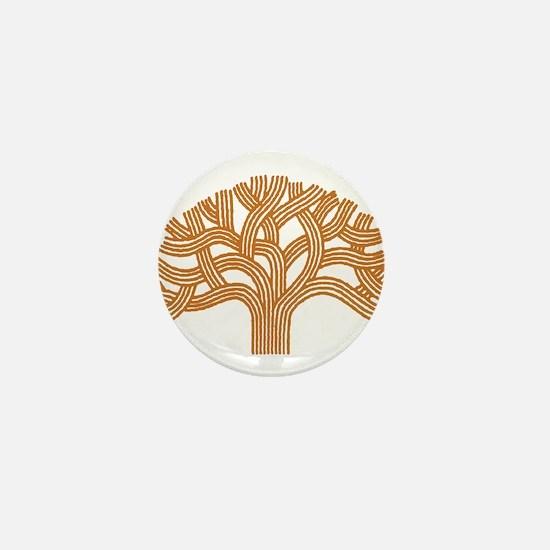 Oakland Orange Tree Mini Button