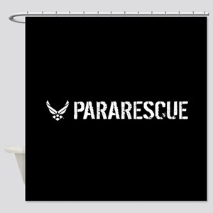 USAF: Pararescue Shower Curtain