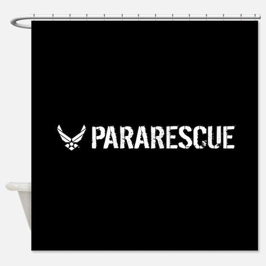 USAF: Pararescue Shower Curtain