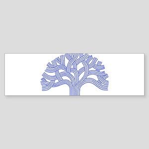 Oakland Ceanothus Tree Bumper Sticker