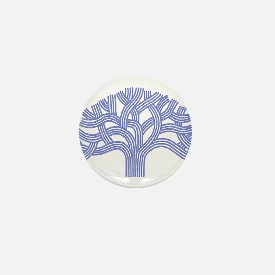 Oakland Ceanothus Tree Mini Button