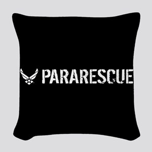 USAF: Pararescue Woven Throw Pillow