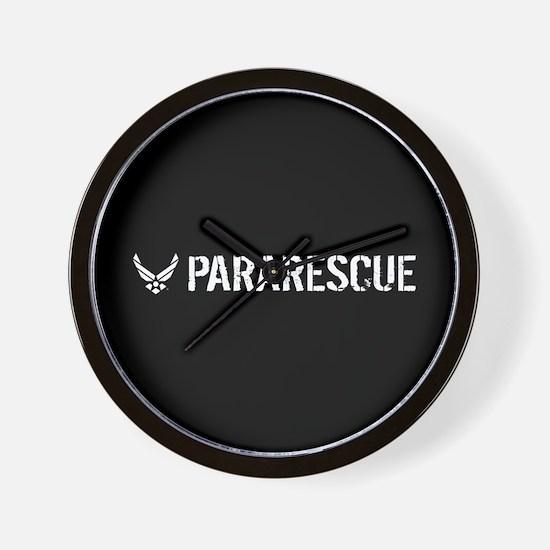 USAF: Pararescue Wall Clock