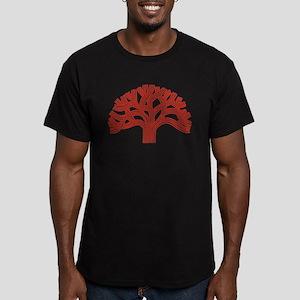 Oakland Apple Tree Men's Fitted T-Shirt (dark)