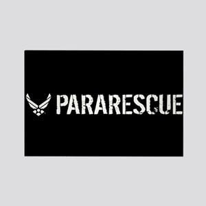 USAF: Pararescue Rectangle Magnet