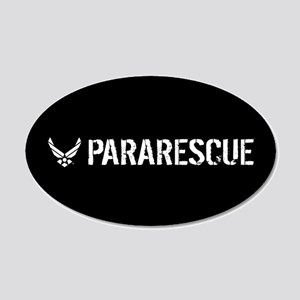USAF: Pararescue 20x12 Oval Wall Decal