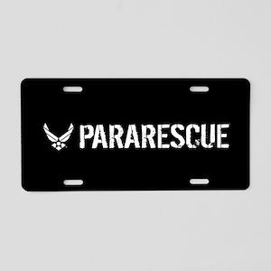 USAF: Pararescue Aluminum License Plate