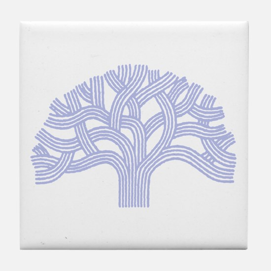 Oakland Skies Tile Coaster