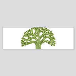 Oakland Oak Tree Bumper Sticker