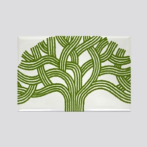 Oakland Oak Tree Rectangle Magnet