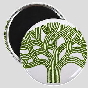 Oakland Oak Tree Magnet