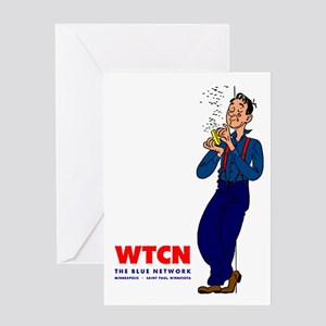 WTCN 1280 Greeting Card