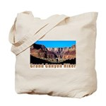 Grand Canyon Hiker Tote Bag
