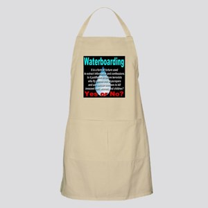 Waterboarding Yes or No? BBQ Apron