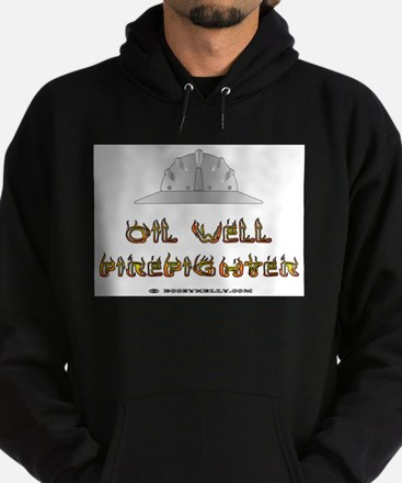 Oil Well Firefighter Hoodie (dark)Oil Rigs,Oil