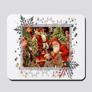 Vintage Christmas Collage Mousepad