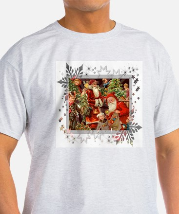 Vintage Christmas Collage T-Shirt