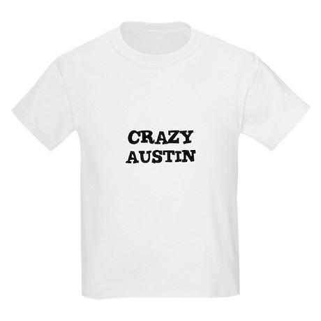 CRAZY AUSTIN Kids T-Shirt