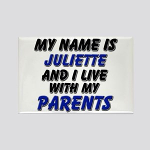 my name is juliette and I live with my parents Rec