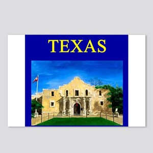 ilove texas texans Postcards (Package of 8)