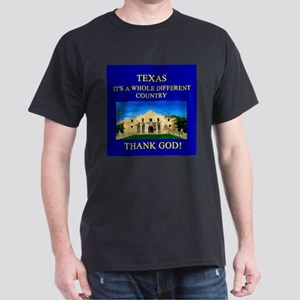 i love texas texans Dark T-Shirt