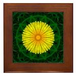 Dandelion I Framed Tile