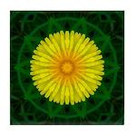 Dandelion I Tile Coaster