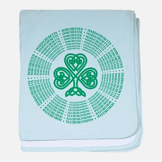 Dorchester, MA Celtic baby blanket