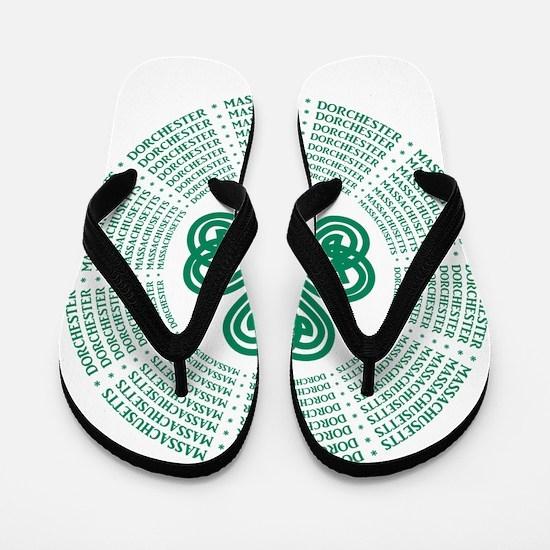 Dorchester, MA Celtic Flip Flops
