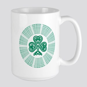 Dorchester, MA Celtic Large Mug