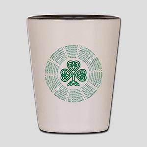 Dorchester, MA Celtic Shot Glass