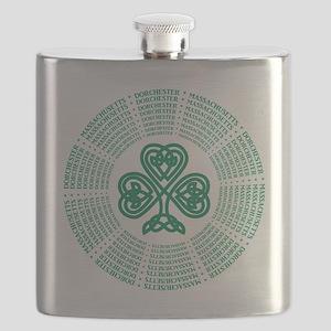 Dorchester, MA Celtic Flask