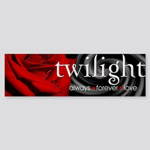 Twilight Always Forever Love Bumper Sticker