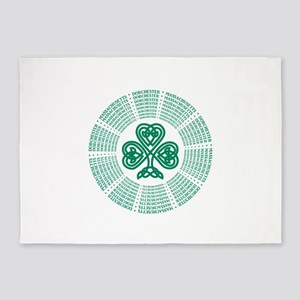 Dorchester, MA Celtic 5'x7'Area Rug