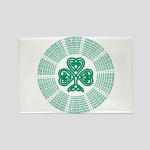 Dorchester, MA Celtic Rectangle Magnet