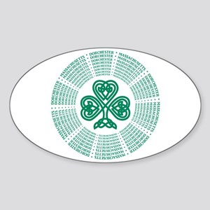 Dorchester, MA Celtic Sticker (Oval)
