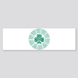Dorchester, MA Celtic Sticker (Bumper)