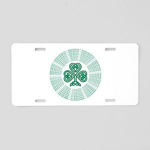 Dorchester, MA Celtic Aluminum License Plate