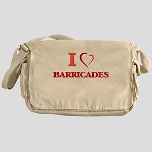 I Love Barricades Messenger Bag