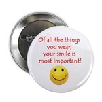 "Smile 2.25"" Button (10 pack)"