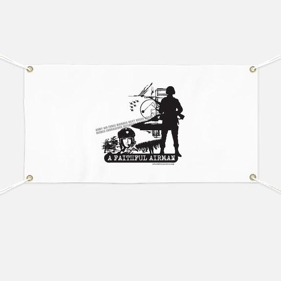 A Faithful Airman Banner