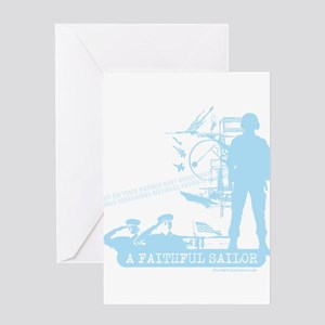 A Faithful Sailor Greeting Card