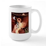 Angel / Min Schnauzer Large Mug