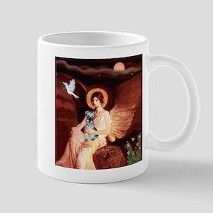 Angel / Min Schnauzer Mug