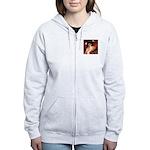 Angel / Min Schnauzer Women's Zip Hoodie