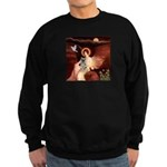 Angel / Min Schnauzer Sweatshirt (dark)