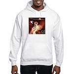 Angel / Min Schnauzer Hooded Sweatshirt