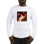Angel / Min Schnauzer Long Sleeve T-Shirt