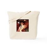 Angel / Min Schnauzer Tote Bag