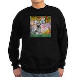 Garden / Miniature Schnauzer Sweatshirt (dark)